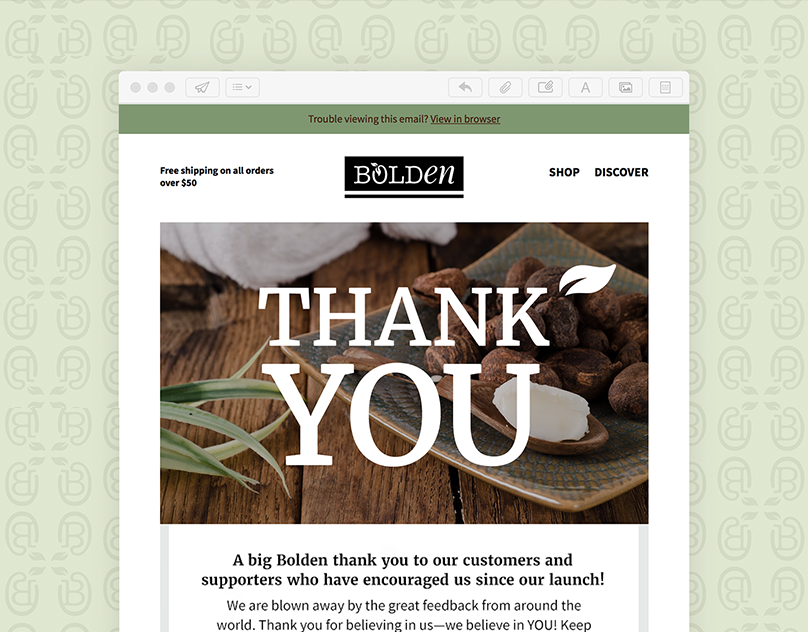 Mailchimp Newsletter Email Template